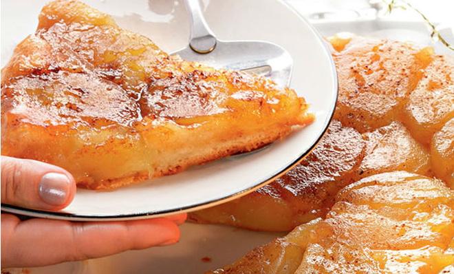 яблочный пирог, блюда из яблок