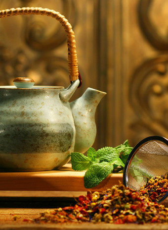Пряный чай в индийском стиле