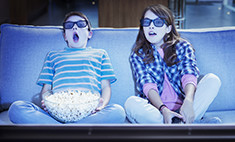 Родителям на заметку: телевизор губит творческие способности детей