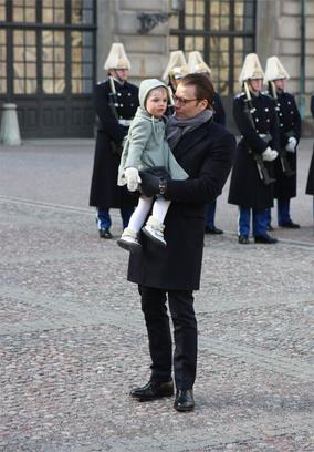 2-летняя принцесса произвела фурор