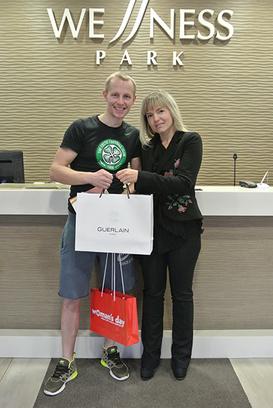 Вручение подарков самому сексуальному фитнес-тренеры Волгограда