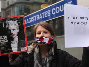 Власти Швеции подали аппеляцию по делу Джулиана Ассанджа (Julian Assange)