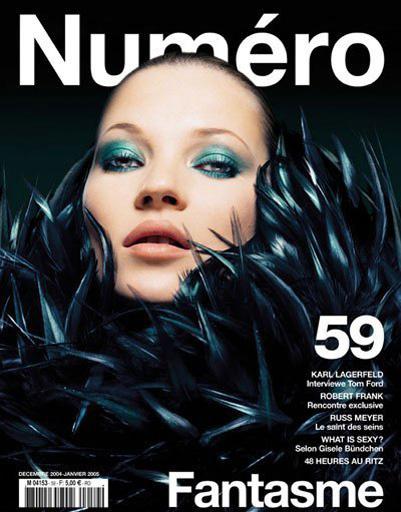 Кейт Мосс на обложке журнала Numero
