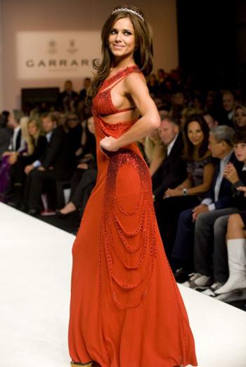 Шерил Коул в платье Jean Paul Gautier