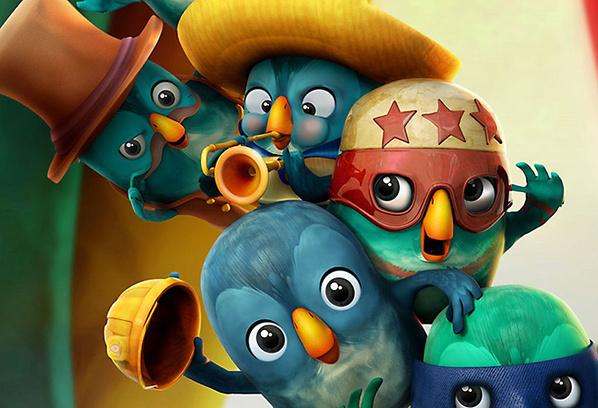Пернатая банда, кадр из мультфильма
