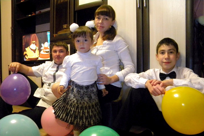 счастливые семьи