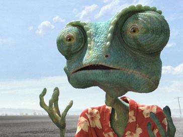 Кадр из мультфильма «Ранго»