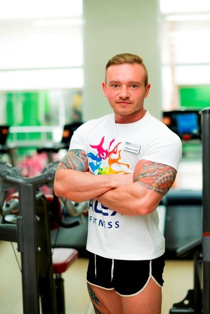 Сексуальная фитнес инструктора фото