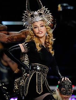 Мадонна на Суперкубке