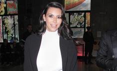 Ким Кардашьян не хочет выглядеть беременной на Неделе моды
