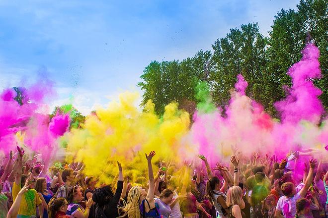 Фестиваль красок ColorFest, фото