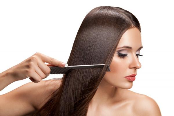 Что такое выпрямление волос кератином