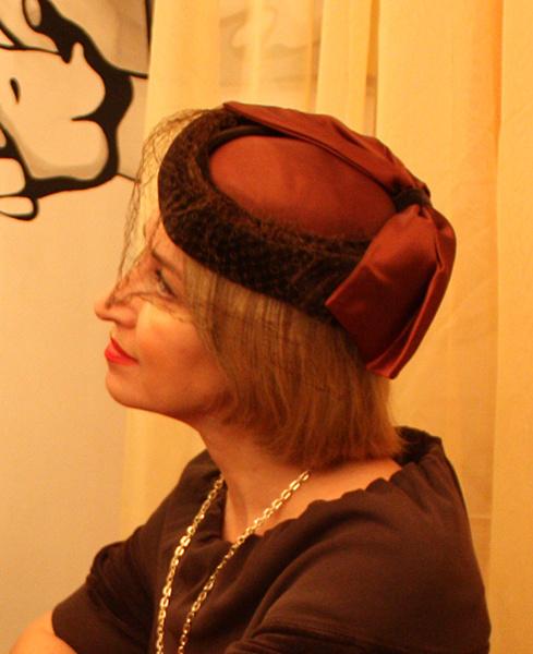 Шляпка «Антикварная», Елена Злоказова