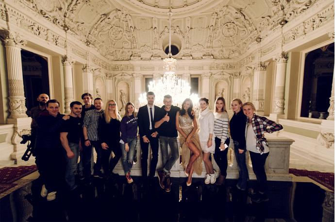 Ирина Шейк в рекламной кампании Love Republic