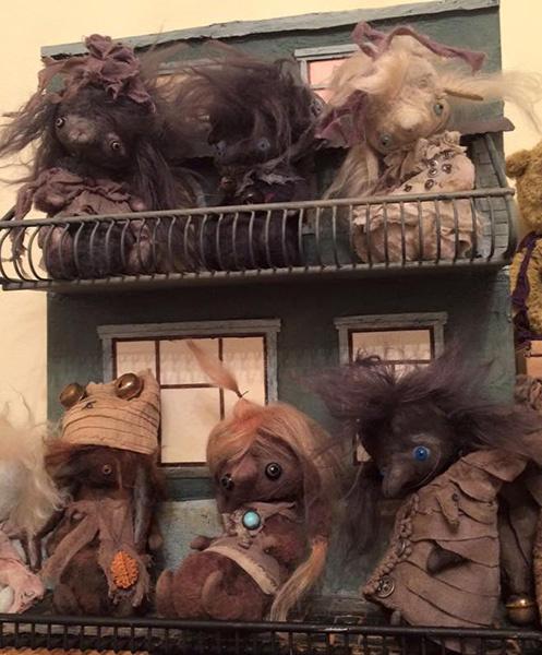 Татьяна Белошкурская, Выставка «Тайна кукольного шкафа», фото