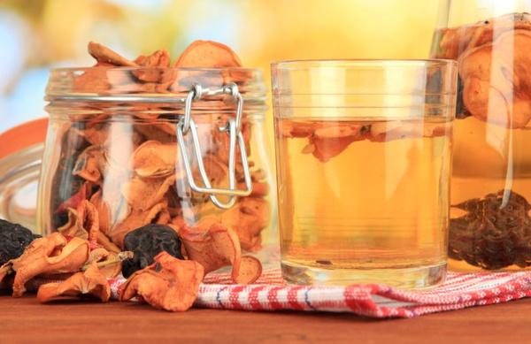 Рецепт яблочного компота