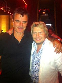Крис Нот (Chris Noth) и Николай Басков