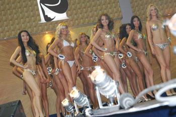 Участницы конкурса «Мисс Москва-2009»