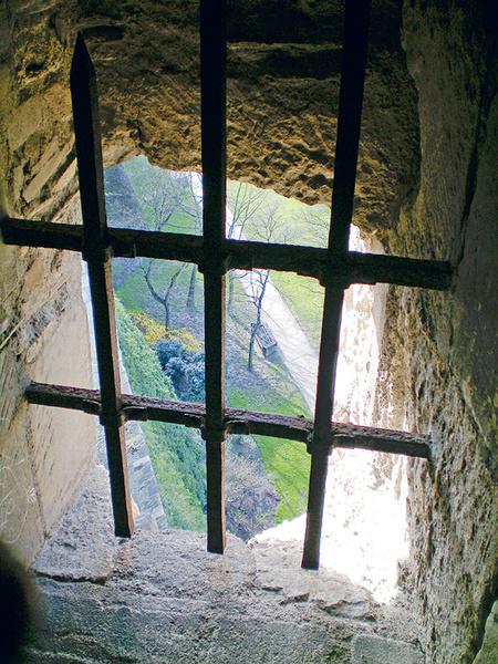 Вид из смотрового окна Мельничной башни