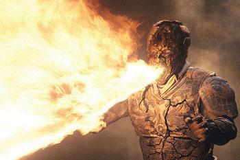 Новая мумия умеет плеваться огнем...