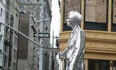 В Нью-Йорке поставили памятник Энди Уорхолу