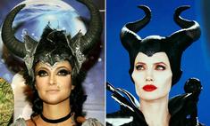 Найди 10 отличий: Анастасия Макеева копирует Джоли
