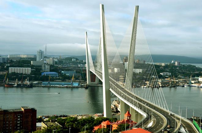 Владивосток. Золотой мост