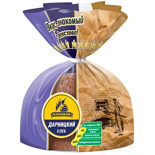 Хлеб дарницкий от «Каравая»: знакомый вкус в новой упаковке