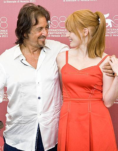 Аль Пачино (Al Pacino) и Джессика Честейн (Jessica Chastain)