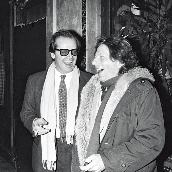 С другом Джеком Николсоном, Париж, 1984 г.