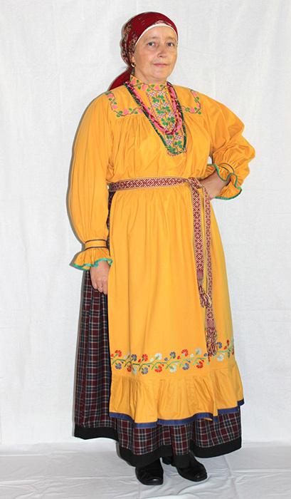 Национальный костюм: Новосибирская область фото