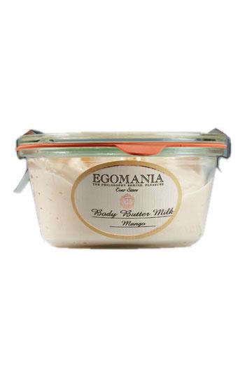 Крем-масло для тела Body Butter Milk, Egomania.