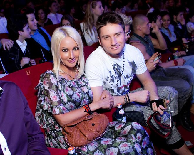 звездыне разводы Сергей Лазарев и Лера Кудрявцева