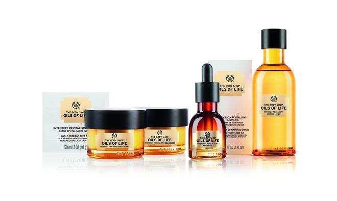 The Body Shop, коллекция средств «Oils of Life»