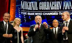 В Лондоне звезды поздравили Михаила Горбачева с юбилеем