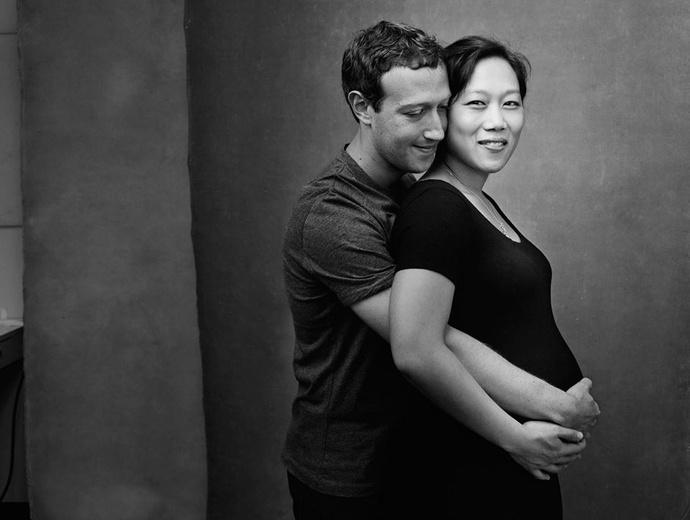 Марк Цукерберг и Присцилла Чан фото