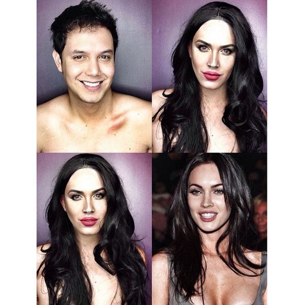 Филиппинский визажист перевоплотился в звезд с помощью макияжа   галерея [1] фото [3]
