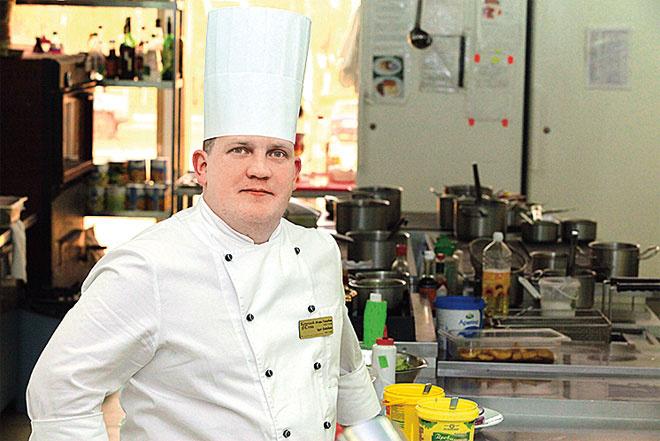 Шеф-повар Игорь Голубев
