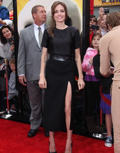 """Анджелина Джоли (Angelina Jolie) на премьере фильма """"Кунг-фу панда 2"""" в Лос-Анджелесе"""