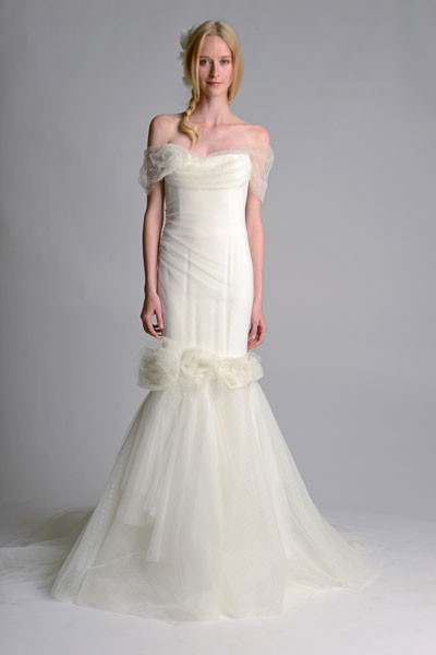 Свадебное платье Marchesa осень-2014