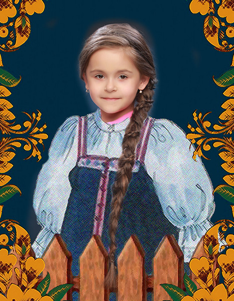 Яна Ваткина, «Уральская краса – русская коса», фото
