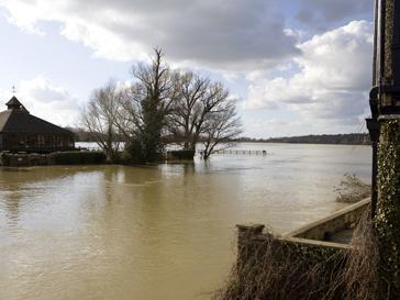 Наводнение в поселке