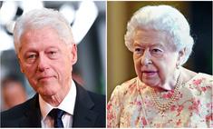 Британец прославился в Интернете, потому что похож одновременно на Елизавету II и на Билла Клинтона