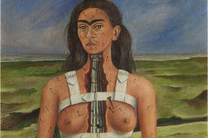 Фрида Кало «Моя кормилица и я»