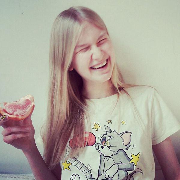 Анна Мартынова, агентство Ivanov models