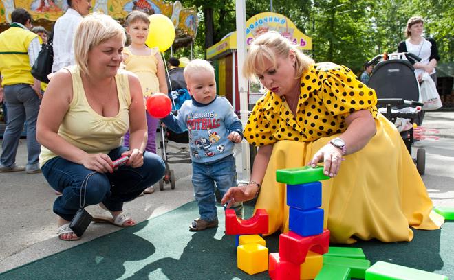 Светлана Пермякова с ребенком