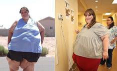 Самая толстая женщина в мире мечтает весить 1000 кг