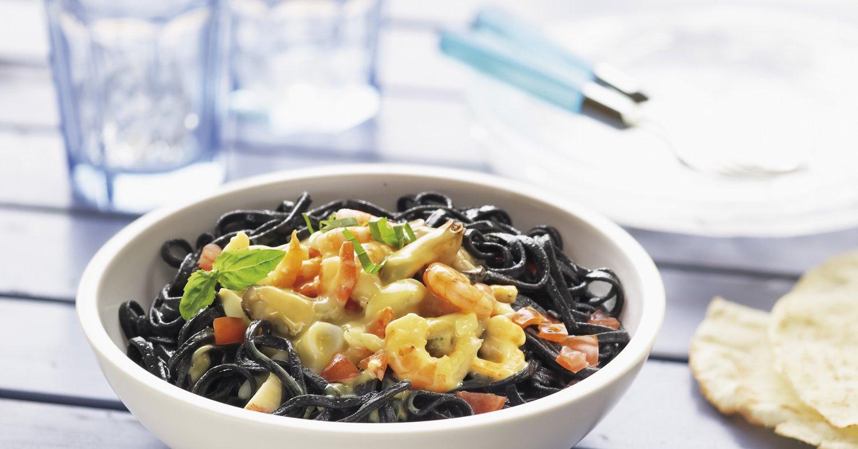Паста с чернилами каракатицы рецепт