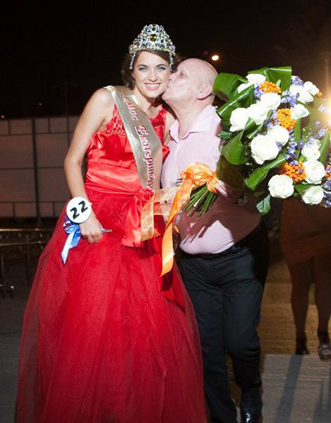 Анна Лесун, «Мисс Екатеринбург-2012»