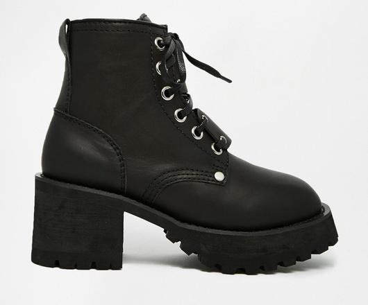 Ботинки Unif, 16 444 р. (Asos.com)